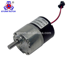 Motor brushless da caixa de engrenagens 9v Motor brushless caracterizado, mini motor brushless da CC com 850rpm
