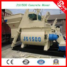 Js1500 Mezclador de hormigón eléctrico (1.5m3) para la planta de mezcla concreta