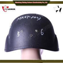 China atacado Kevlar conjunto de capacete balístico