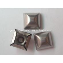 Piezas de estampado personalizado de metal claw beads
