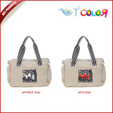2015 fashion tote bag new design bag wowen bag,custom-made uv color change tote bags