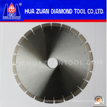 Hojas de sierra de corte de granito de diamante