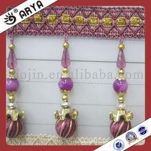 Decorative Curtains Plastic Beads Fringe Trims