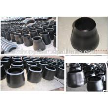 Réducteur concentrique en acier au carbone ANIS / raccords de tuyauterie noire