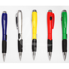 Plastic Ball Pen Shinning Light Pen with Multi Color