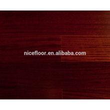 Balsam dal Piso de madeira multicamada de sândalo vermelho Piso de engenharia de madeira maciça multicamada