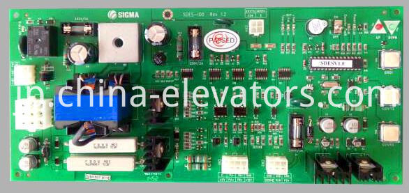 Brake Control Board SDES-100 for Sigma Elevators