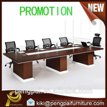 hot sale MDF brown square meeting table