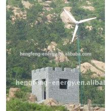aerogenerador casero de China 200W barato de alta calidad
