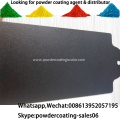 Electrostatic spray antimicrobial powder coating
