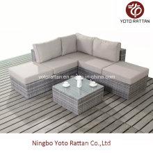 Outdoor Rattan Small Sofa Set (1401)