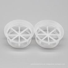 Mini anel de cascata de plástico, embalagem de torre de plástico