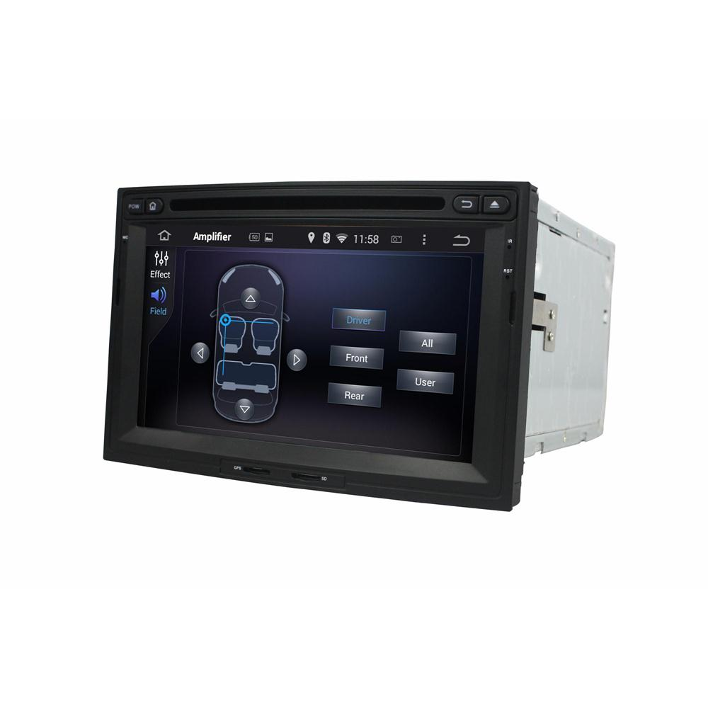 Peugeot model android car dvd player