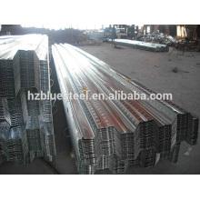 Tablero del panel de la cubierta del piso de acero galvanizado del metal para la venta, placa de acero de la ayuda del piso,