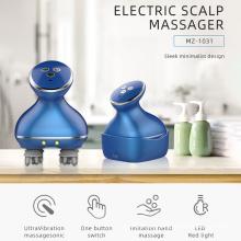 Massageador de cabeça elétrica vibratória de aquecimento de venda quente