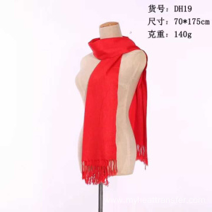 Custom promotional red scarves