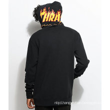 Men′s X Thrasher Black Fashion Hoody