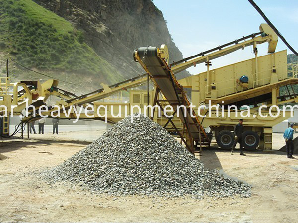 Mobile Coal Crushing Plant