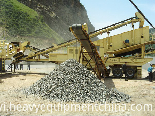 Mobile Stone Crusher For Sale