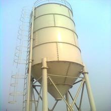 Silo à ciment horizontal de 100 tonnes