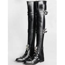 BJD 70см мужские туфли Черные высокие сапоги Rshoes70-3
