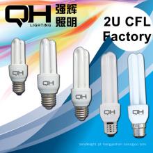 B22 CFL matéria-prima de poupança de energia de espiral