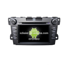 Quad core!car dvd with mirror link/DVR/TPMS/OBD2 for 7inch touch screen quad core 4.4 Android system MAZDA CX-7