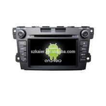 Quad core! Dvd do carro com link espelho / DVR / TPMS / OBD2 para 7 polegadas tela sensível ao toque quad core 4.4 Android sistema MAZDA CX-7