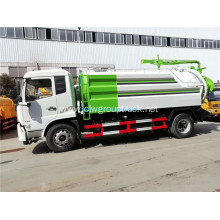 Dongfeng tianjin high-pressure cleaning dirt suction truck