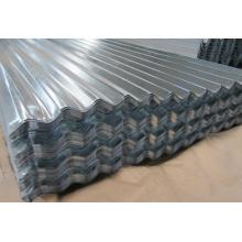 Feuille ondulée galvanisée 4x8