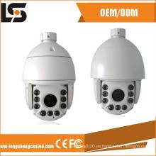 Piezas de fundición de carcasa de cámara domo de velocidad a prueba de agua IP66