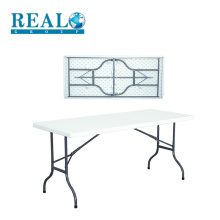 Factory direct supply small portable plastic folding camping table on sale