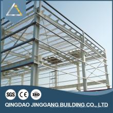 Estrutura de aço Prefab Design de casa simples no Nepal