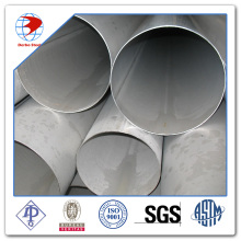 DN350XSCH60 EN 10217-7 316L Longitudinal welded SS tube