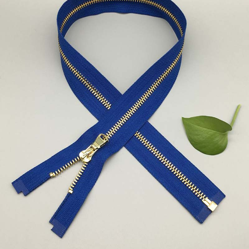 12 Inch brass zipper