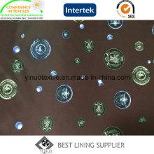 Doublure d'impression 100% polyester haute qualité