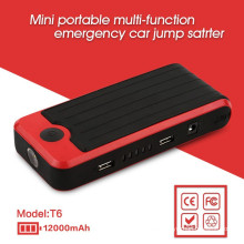 Black and Red 12V LIPO Car Battery Emergency Start car Booster