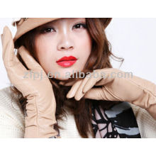 botton cuff noble style lady leather glove