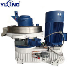 YULONG 1.5-2TON/H XGJ560 palm fiber pellet machine