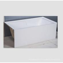 Baignoire intégrée tablier avant baignoire en acrylique