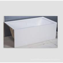 Bathtub Integrated Apron Front Acrylic Bath Tub