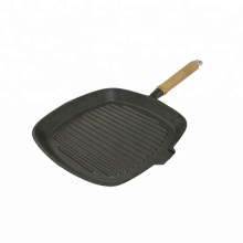Cast Iron Grill Pan With Detachable Handle