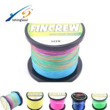 BRLN107 pêche à la glace jigs ligne clips longue ligne machine de pêche climax multi couleur 8 brins speca tresse pe ligne de pêche