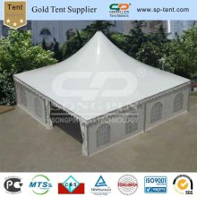 10X10m White Wedding Big Pagoda Tent with Curtains & Linings