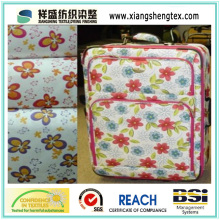 PU Coated Oxford Polyester Printed Fabric for Bag or Luggage
