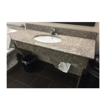 Top Selling G664 Polished Prefab Bathroom Granite  Low Price Vanity Countertop bathroom brazil granite vanity tops
