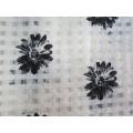 Polyester Check Organza Tissu pour jupe
