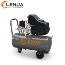 LeHua CE & ISO 1.5kw 220 v 50L kleine benzinluftkompressor