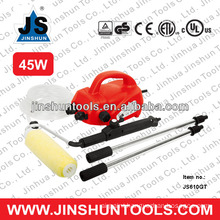 JS PAINT ROLLER WITH BUILT IN SHIELD - SPLATTER GUARD - BRAND NEW 45W JS610GT