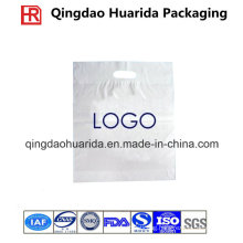 Biodegradable LDPE Custom Plastic Die Cut Handle Shopping Bag
